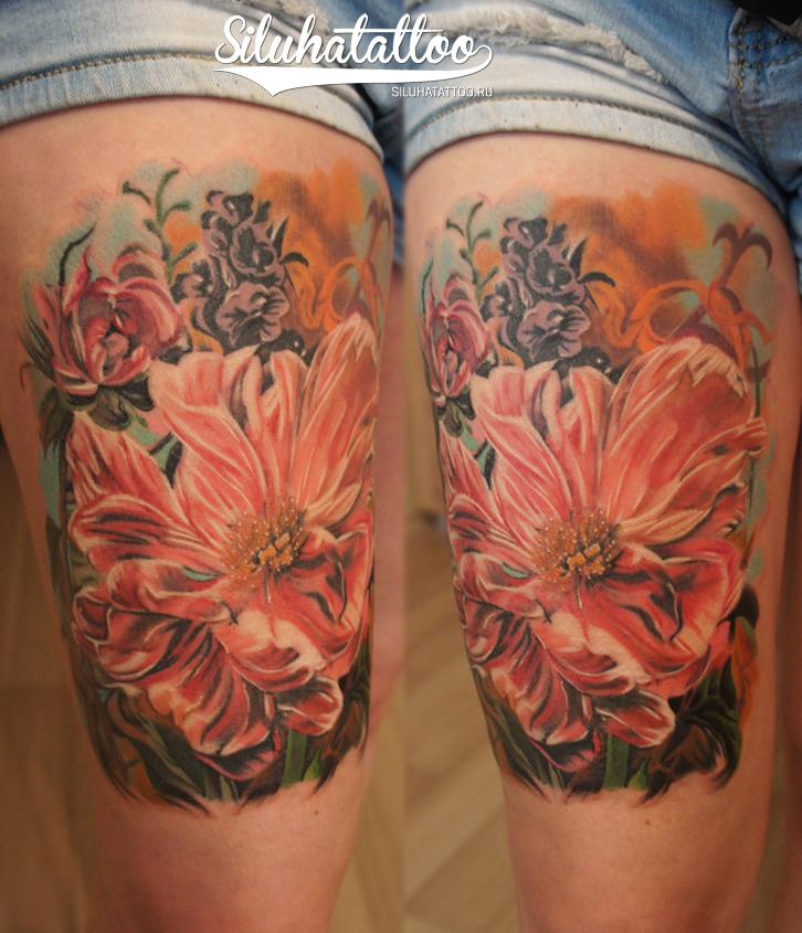 Цветы Стеф лого